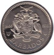 25 cents (Indépendance) – avers