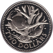 2 dollars (Independance) – revers