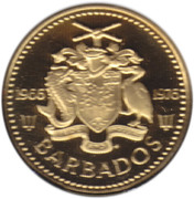 5 cents (Indépendance) – avers