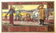 50 pfennig (Barntrup) – revers