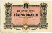 50 francs (Bank in Basel) -  avers