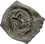 1 Pfennig - Lüthold von Aarburg – revers