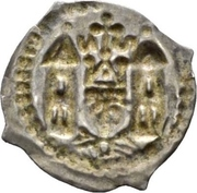 1 Pfennig - Berthold II. von Pfirt – revers