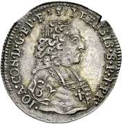 1 groschen - Johann Conrad II – avers
