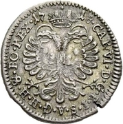 1 groschen - Johann Conrad II – revers