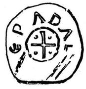 Denar - Adalbero II – avers