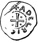 Denar - Adalrich II – revers
