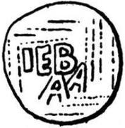Denar - Theoderich – revers