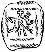 Denar - Rudolf IV von Homburg – avers