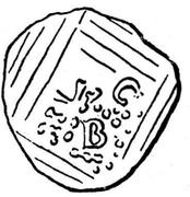 Denar - Burkhard von Fenis – avers
