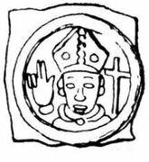1 Pfennig - Heinrich I von Horburg – avers