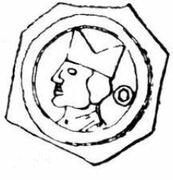 1 Stebler - Johann III von Vienne – avers