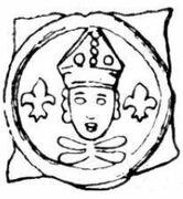 1 Stebler - Johann I. von Chalon – avers