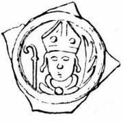 1 Pfennig - Peter I. von Reichenstein – avers