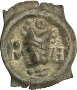 1 pfennig - Johann II. Senn von Münsingen – avers