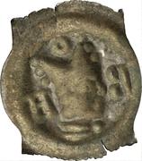1 pfennig - Johann II. Senn von Münsingen – revers