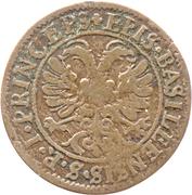 ½ batzen - Johann Conrad II – revers