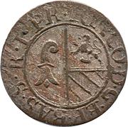 1 rappen - Johann Conrad II – avers