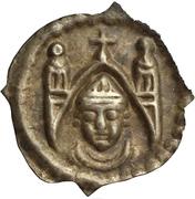 1 pfennig - Berthold von Pfirt – avers
