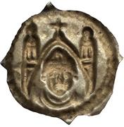 1 pfennig - Berthold von Pfirt – revers