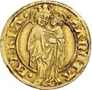 1 Goldgulden (Interregnum) – revers