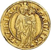 1 Goldgulden (Interregnum) -  revers