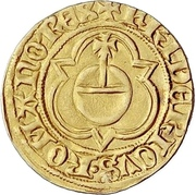 1 Goldgulden - Friedrich III. -  avers