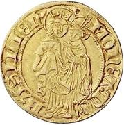 1 Goldgulden - Friedrich III. -  revers