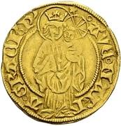1 Goldgulden - Albrecht II. – revers