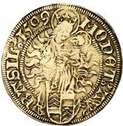 1 Goldgulden - Maximilian I. -  revers