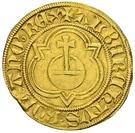 1 Goldgulden - Albrecht II. – avers
