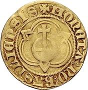 1 Goldgulden (Interregnum) – avers