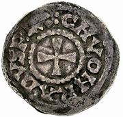 1 Denar - Konrad III. der Friedfertige (Burgundian Kingdom) – avers