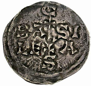 1 Denar - Konrad III. der Friedfertige (Burgundian Kingdom) – revers