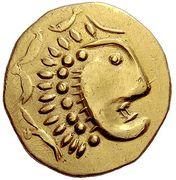 2 Stater (Kolchis imitation of Stater of Lysimachos) – avers