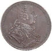 1 thaler - Károly Batthyány – avers