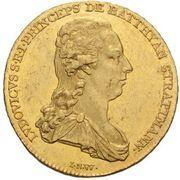 1 Ducat - Lajos Batthyány – avers