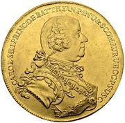5 Ducat - Károly Batthyány – avers