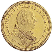1 Ducat - Károly Batthyány – avers