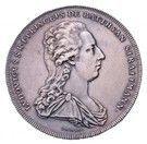 ½ Thaler - Lajos Batthány (1788-1806) – avers