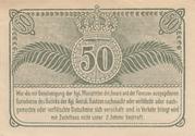 50 Pfennige – revers