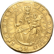 2 ducat Maximilian I – revers