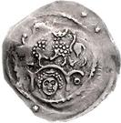 1 Pfennig - Ludwig I. der Kehlheimer – revers