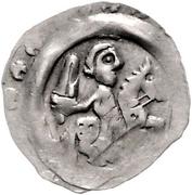 1 Pfennig - Otto II. der Erlauchte – avers