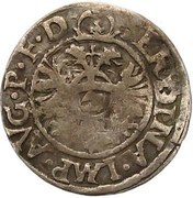2 kreuzer Albrecht V – revers