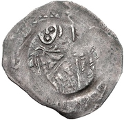 1 Pfennig - Ludwig I der Kelheimer – revers
