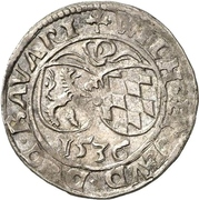 6 Kreuzer - Wilhelm IV. – avers