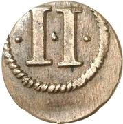 2 Pfennig - Maximilian I – revers