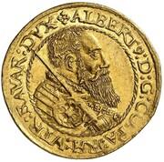 2 Ducat - Albrecht V – avers