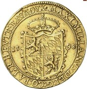 4 Ducat - Maximilian I – avers